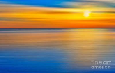 Unseen Sunset - A Tranquil Moments Landscape Print by Dan Carmichael