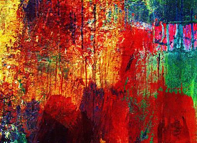 Hope Digital Art - Untamed Colors  by Prakash Ghai