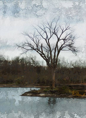 Painter Digital Art - Until Spring by Jack Zulli