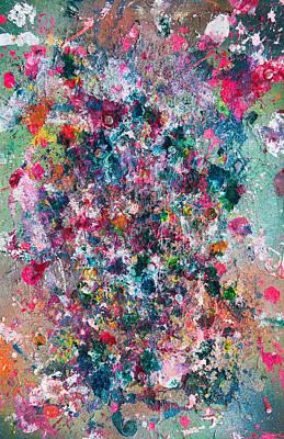 Limited Edition Mixed Media - Untitled Number Twenty Nine by Maria  Lankina