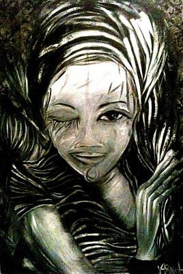 Painting - Untitled -the Seer by Juliann Sweet