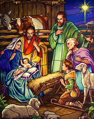 Unto Us A Son Is Given Print by Jean Hildebrant