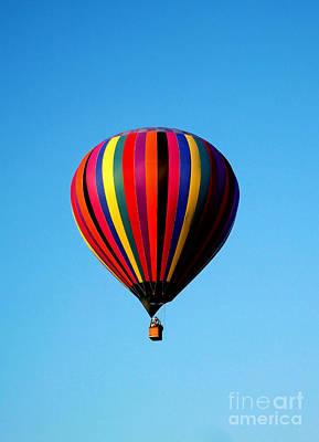 R. Mclellan Photograph - Up In The Air by R McLellan