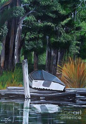 Up The Creek Original by Merrin Jeff