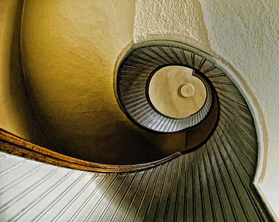 Up The Stairway Print by Jon Berghoff