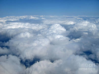 Up Up In The Sky Print by Valerie Garner