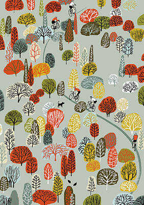 Uphill Print by Eliza Southwood