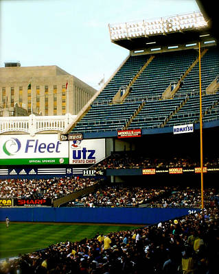 Upper Deck  The Yankee Stadium Print by Iconic Images Art Gallery David Pucciarelli