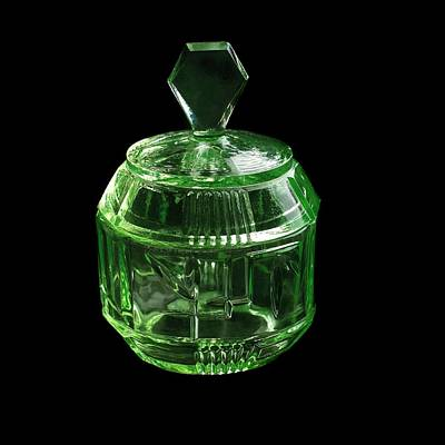 Vaseline Glass Photograph - Uranium Glass by Science Photo Library