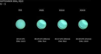 Rgb Photograph - Uranus by Damian Peach