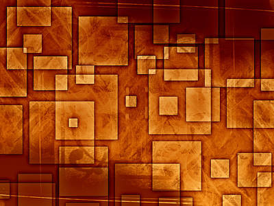 Abstract Art Painting - Urban Abstract by Modern Art Prints