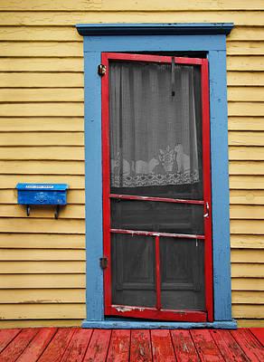 Urban Doorway Print by Steven  Michael