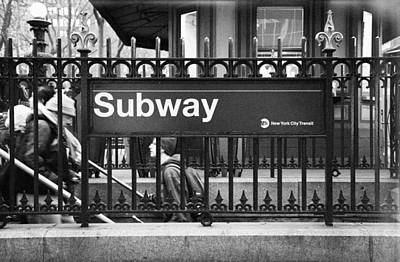 Urban Subway Print by Emmanouil Klimis