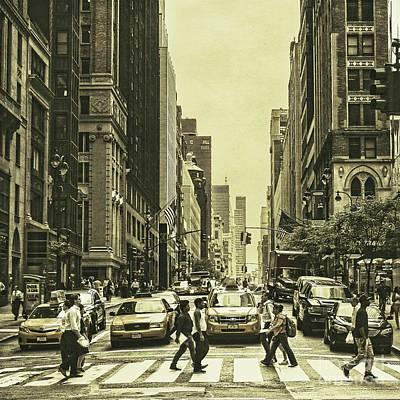 Urbanites Print by Andrew Paranavitana