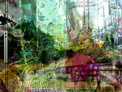 Digital Art - Urbanscetch by Immo Jalass