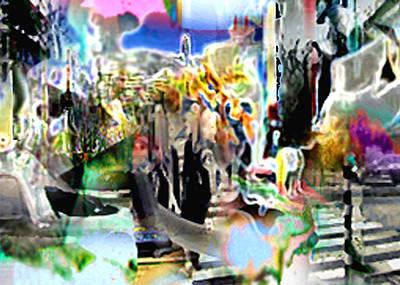Digital Art - Urbansmeet by Immo Jalass