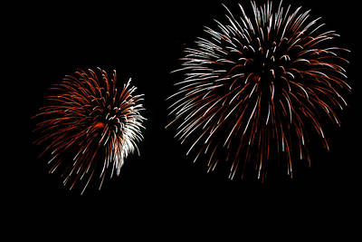 Fireworks Photograph - Urchins by Lester Phipps
