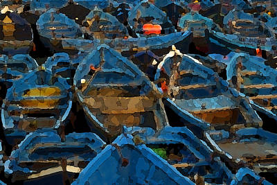 Photograph - Urdin Hori by Jl Zufiria