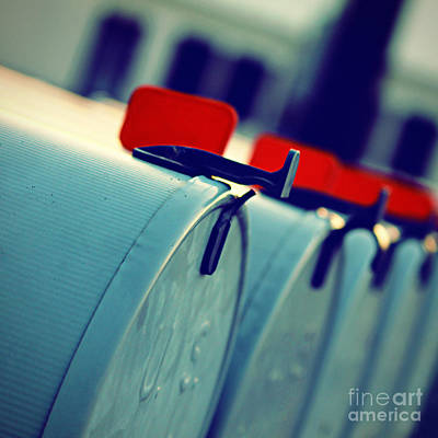 Us Postal Service Photograph - Urgent by Trish Mistric