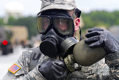 -wars And Warfare- Photograph - U.s. Army Chemical Operations by Stocktrek Images