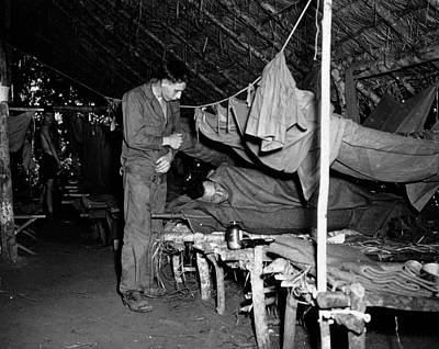 1943 Photograph - Us Army Malaria Treatment by National Library Of Medicine