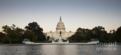Us Capital Photograph - Us Capital Building Washington Dc by Dustin K Ryan