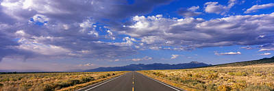 Great Sand Dunes National Park Photograph - Us Highway 160 Through Great Sand Dunes by Panoramic Images