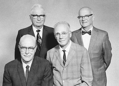 Terrene Photograph - Us Physicists by Science Photo Library