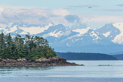 Float Plane Photograph - Usa, Alaska Air Taxi Flies by Jaynes Gallery
