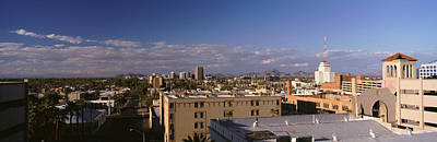 Rooftop Photograph - Usa, Arizona, Phoenix, Aerial View by Panoramic Images
