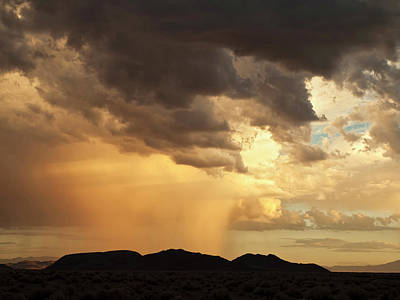 Squall Photograph - Usa, California, Mojave National by Ann Collins