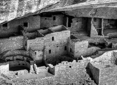 Usa, Colorado, Mesa Verde National Print by Ann Collins