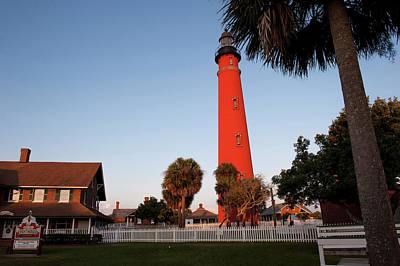 Usa, Florida, Ponce Inlet, Lighthouse Print by Lisa S. Engelbrecht