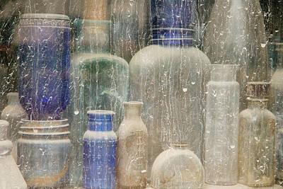 Antique Bottles Photograph - Usa, Idaho, Idaho City by Jaynes Gallery