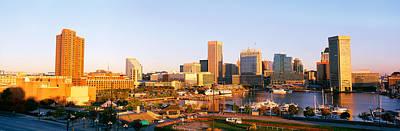 Usa, Maryland, Baltimore, High Angle Print by Panoramic Images