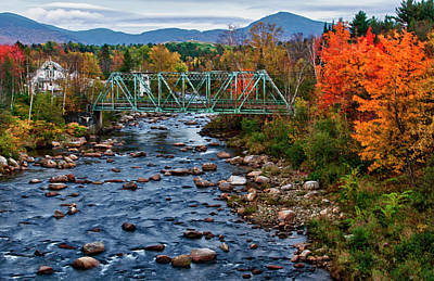 Usa, New Hampshire, Bethlehem Print by Bill Bachmann