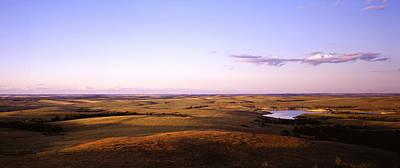 Usa, North Dakota, Stark County Print by Panoramic Images