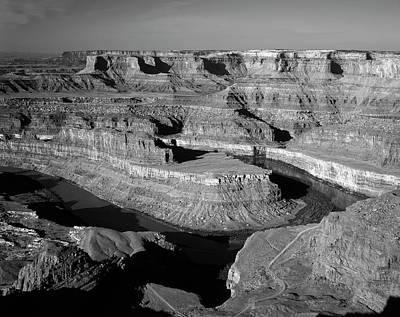 Usa, Utah, View Of Dead Horse Point Print by Adam Jones