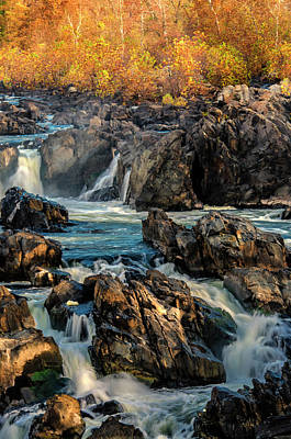 Usa, Virginia, Great Falls Park Print by Jaynes Gallery