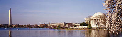 Part Of Photograph - Usa, Washington Dc, Washington Monument by Panoramic Images