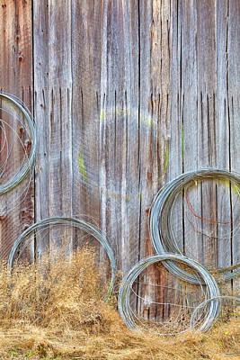 Barn Boards Photograph - Usa, Washington, Silverdale by Jaynes Gallery