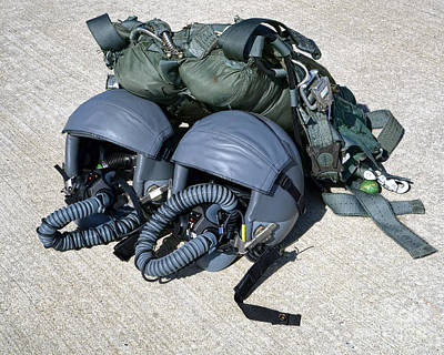 High Altitude Flying Photograph - Usaf Gear by Olivier Le Queinec