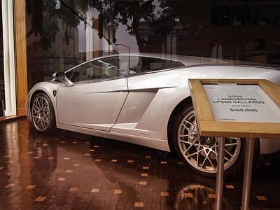 Lamborghini Gallardo Print by Daniel Hagerman