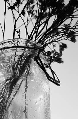 Water Jars Photograph - Usefulness Of Thoughts by JC Photography and Art