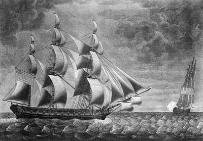 Constellation Painting - Uss Constellation, 1799 by Granger