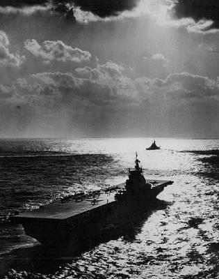 U.s.s. Philippine Sea Print by Retro Images Archive