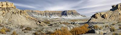 Utah Outback 43 Panoramic Print by Mike McGlothlen