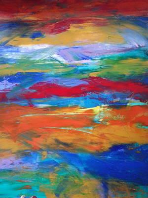 Abstract Painting - Utopia by Tanya Lozano-tul