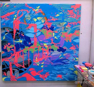 Emphasize Painting - Vacation Plague by Ivana Belianska