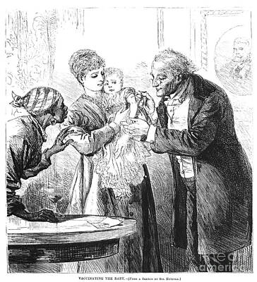 Vaccination, 1870 Print by Granger